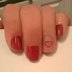 Nail Art How To: Valentine's Day Negative Space Manicure