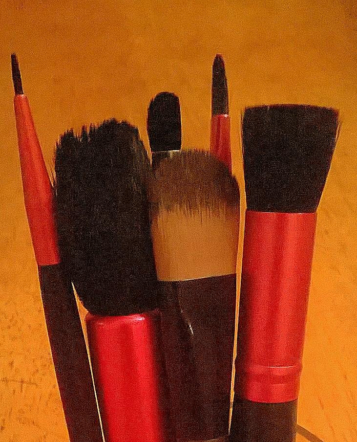 My Make-up Brush Shame.