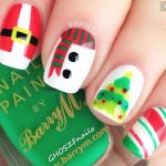 Multi Design Christmas Nail Art