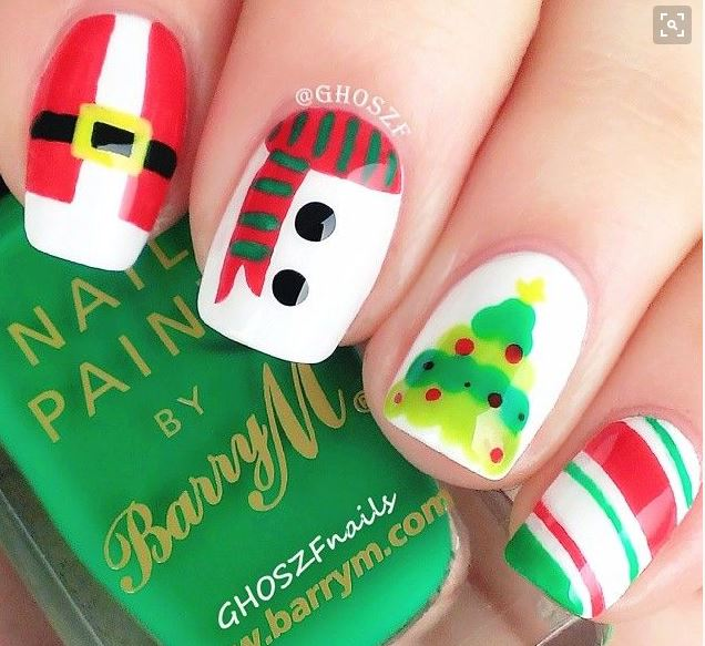The Christmas Nail Art Designs You Need This Year