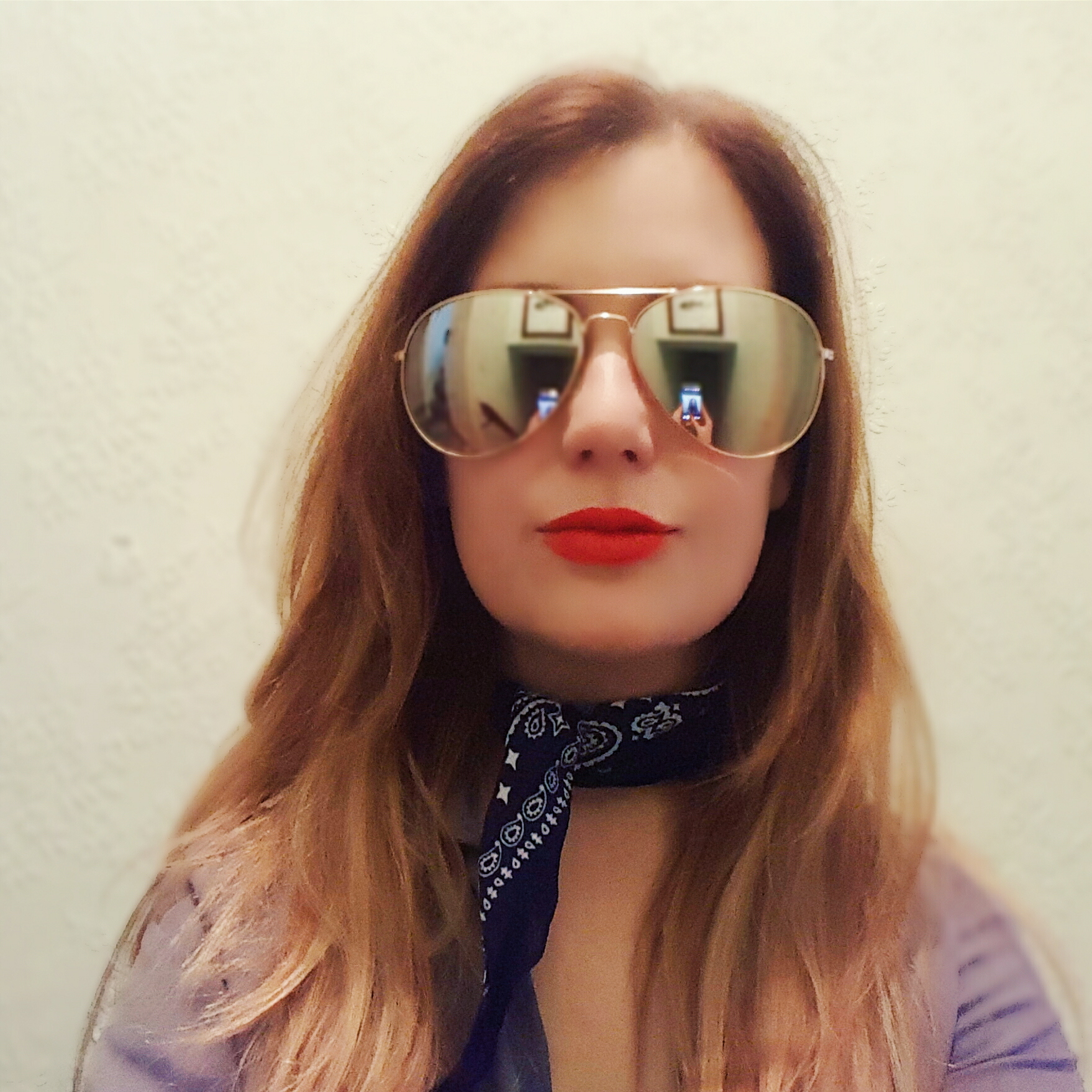 May Primark Haul Rose Gold Aviator Sunglasses NAvy Blue Neckerchief.jpg